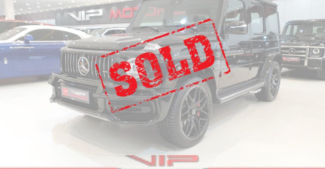 Mercedes-G63-Black-Sold