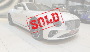 Bentley-Continental-GT-White-Sold
