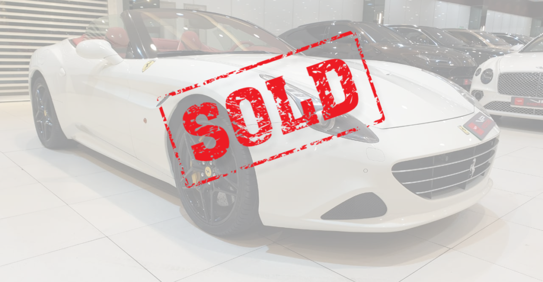 Ferrari-California-Sold