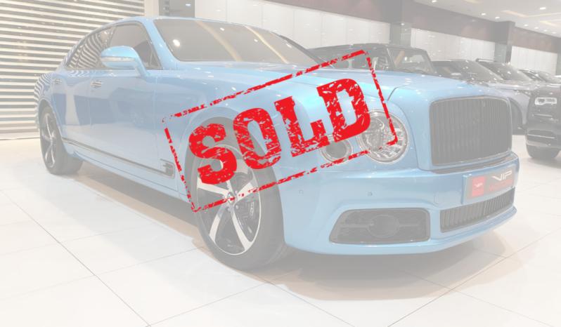 Bentley-Mulsanne-Sold