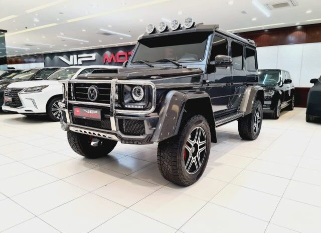 MERCEDES G500 4X4 MANSORY LIMITED EDITION 2018 full