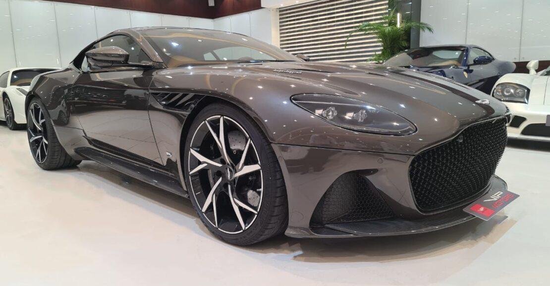 Aston-Martin-DBS-Brown-2019-Front-Side-View-Vip-Motors