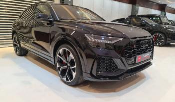 Audi-Rs-Q8-2020-Black-Front-Side-View-Vip-Motors