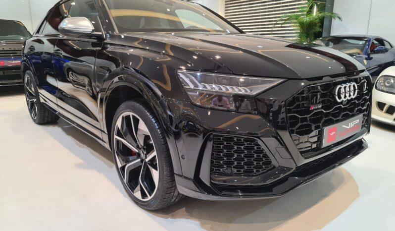Audi-Q8-Black-2020-Front-Side-View-Vip-Motors