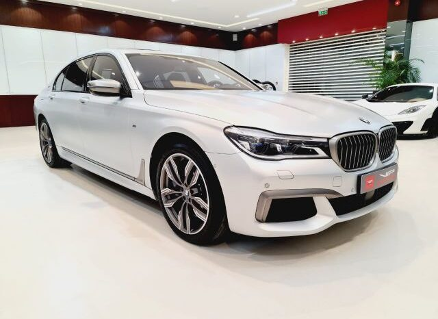 BMW 760IL 12V 2018 grey for sale in Dubai at VIP Motors