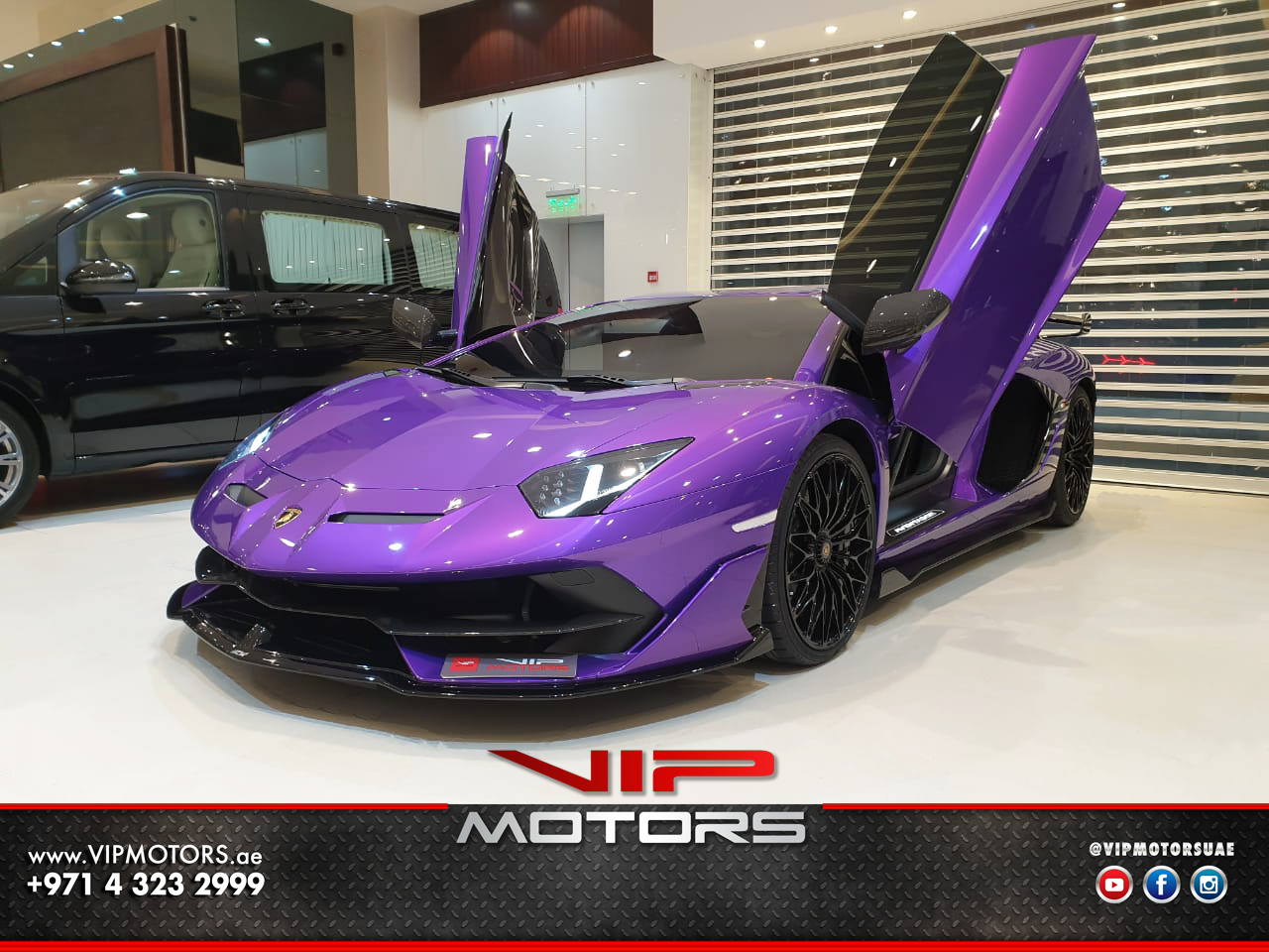 Lamborghini-Aventador-SVJ-Purple-2020-Front-Side-View-Vip-Motors