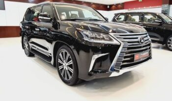 Lexus LX570 Balck 2021 for sale in Dubai at VIP Motors