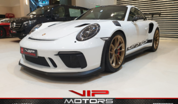 Porsche-Carrera-GT3-White-2019-Front-Side-View-Vip-Motors