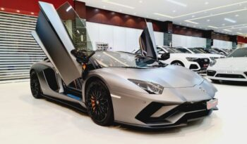 Lamborghini Aventador S Roadster 2018 Grey for sale in Dubai at VIP Motors on Sheikh Zayed Road