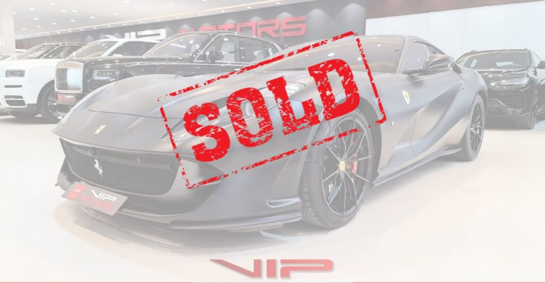 Ferrari-812-Superfast-Sold