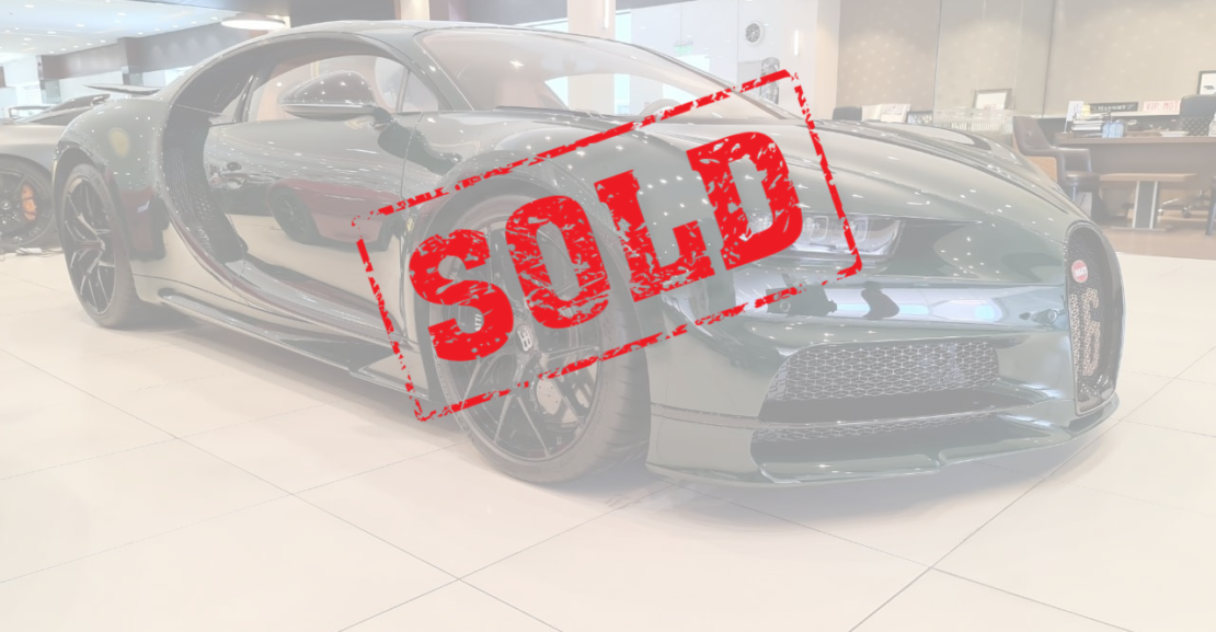 Bugatti-Chiron-Green-Sold