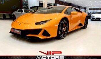 Lamborghini-Huracan-Evo-Orange-2020-Front-Side-View-Vip-Motors