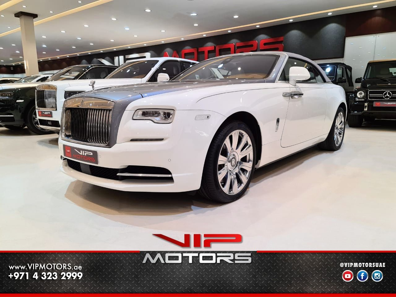 Rolls-Royce-Dawn-White-2016-Front-Side-View-Vip-Motors