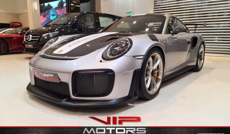Porsche Carrera GT2-Silver-2018-front side-view-vip-motors