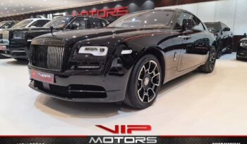 Rolls Royce Wraith-Black-2019-front side-view-vip-motors