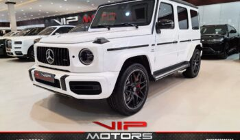 Mercedes Benz G63-AMG-White-2020-Front-Side-View-Vip-Motors