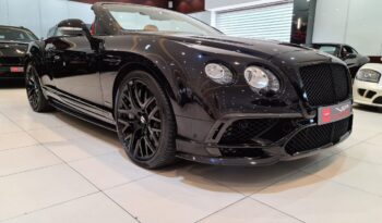 BENTLEY CONTINENTAL GTC LIMITED EDITION, 2018 full