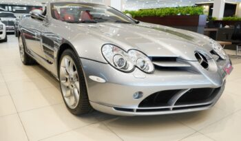 Mercedes-SLR-Roadster-2008-Silver-Front-Side-View-Vip-Motors
