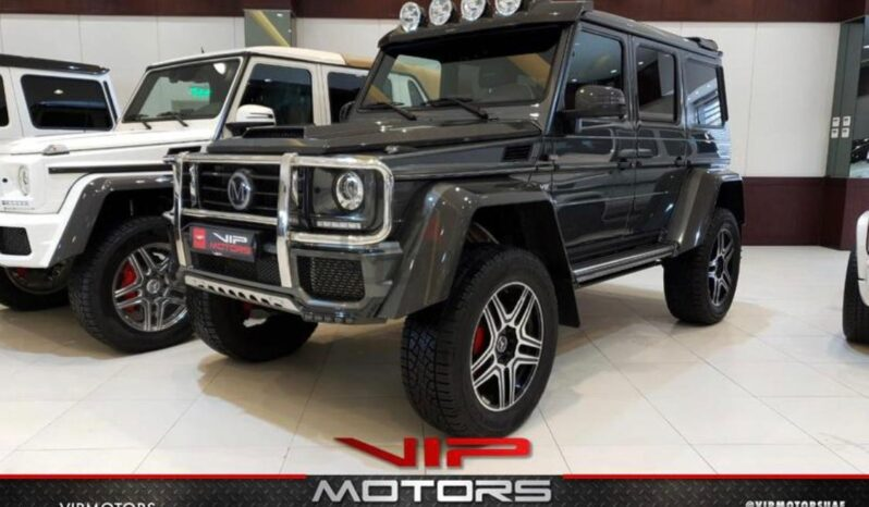 MERCEDES G500 4X4 ORIGINAL MANSORY, 2018 full