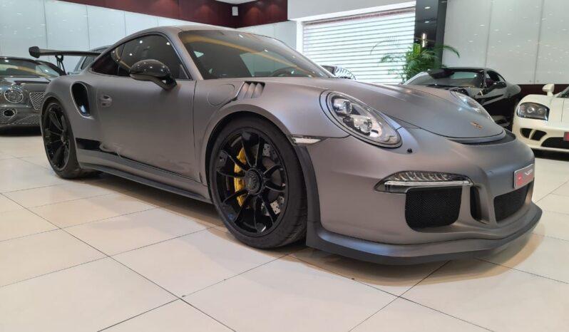 Porsche-Carrera-GT3RS-2016-Grey-Front-Side-View-Vip-Motors