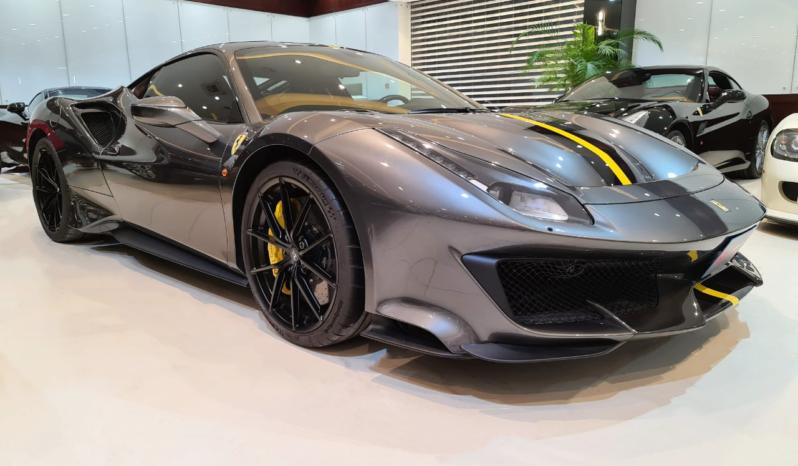 Ferrari-488-Grey-2020-Front-Side-View-Vip-Motors