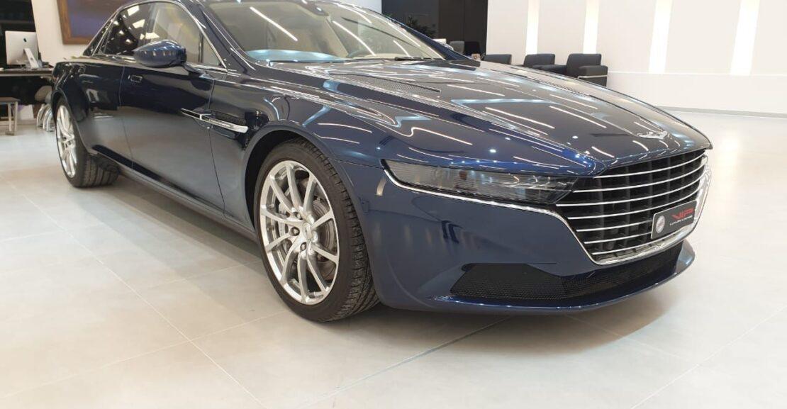 Aston-Martin-Lagonda-Blue-2016-Front-Side-View-Vip-Motors