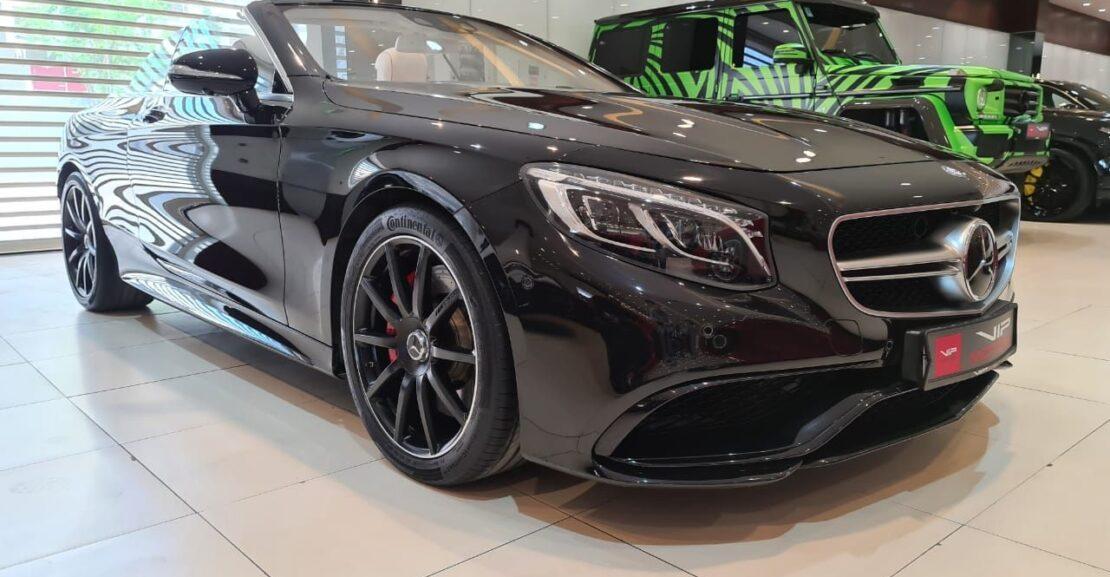 Mercedes-Benz-S63-Front-Side-View-Vip-Motors