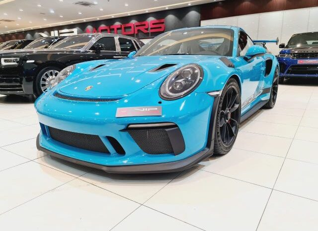PORSCHE CARRERA GT3 RS, 2019 full