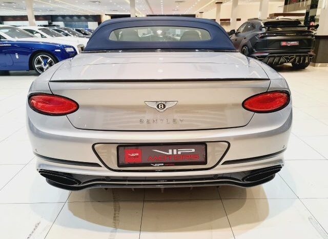 BENTLEY CONTINENTAL GTC FIRST EDITION, 2019 full