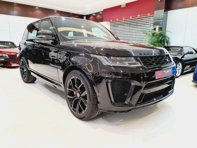 Range Rover Sport SVR 2021 Black for sale in Dubai