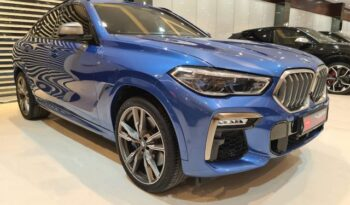 BMW-X6-2020-Blue-Front-Side-View-Vip-Motors