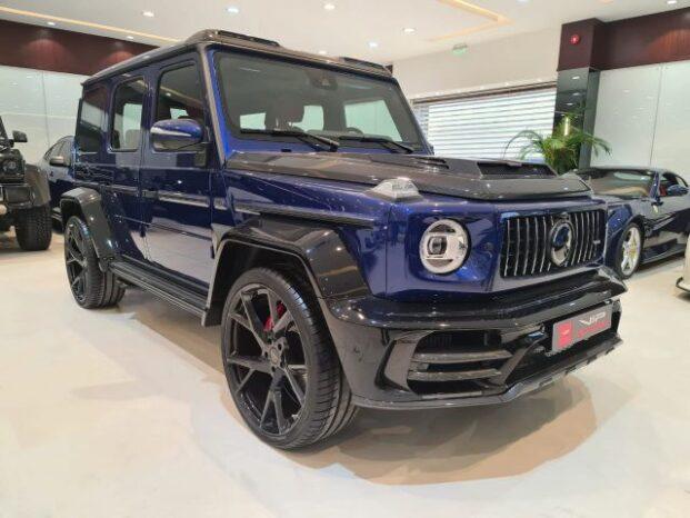 Mercedes-Benz-G-Class-Mansory-Blue-2020-Front-Side-View-Vip-Motors