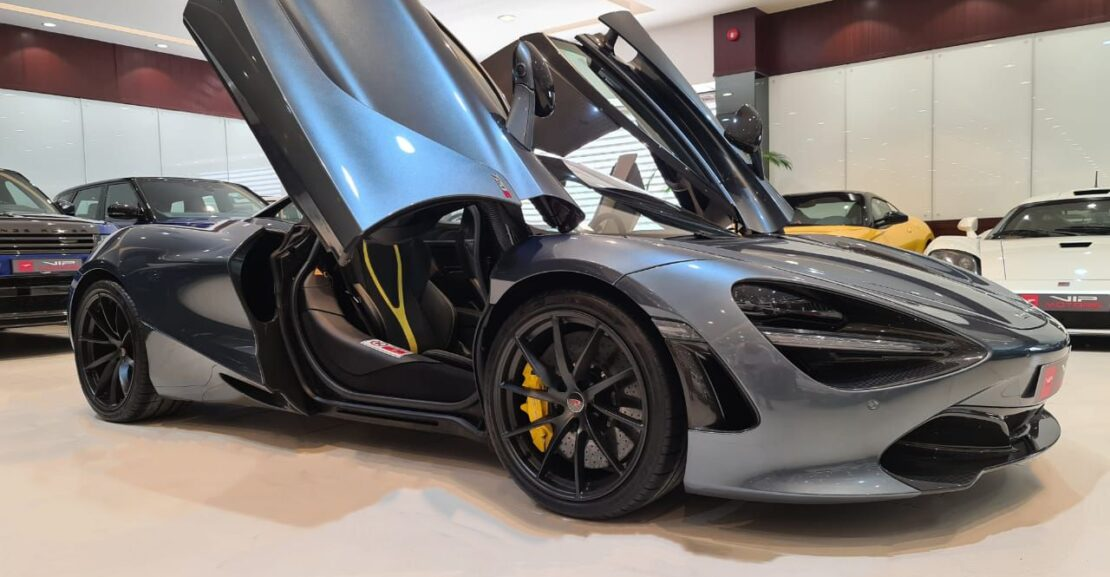 Mclaren-720s-Grey-2018-Front-Side-View-Vip-Motors