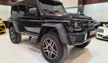 Mercedes-Benz-G500-Black-Front-Side-View-Vip-Motors