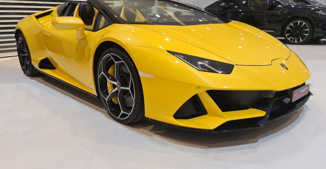 Lamborghini-Huracan-Yellow-2020-Front-Side-View-Vip-Motors